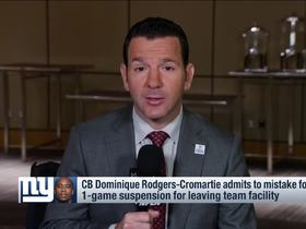 Watch: Rapoport: DRC decision and upset vs. Broncos proved Ben McAdoo's 'confidence'