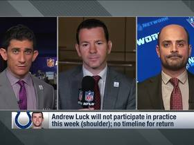 Watch: Rapoport: Unclear if Andrew Luck will play this season
