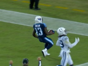 Watch: Spanish play-by-play: Marcus Mariota finds Taywan Taylor for 53-yard TD