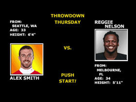 Watch: GMFB's Thursday Throwdown- Alex Smith vs. Raiders Secondary