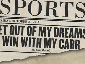 Watch: Tomorrow's Headlines Today: Get Out of My Dreams, Win With My Carr