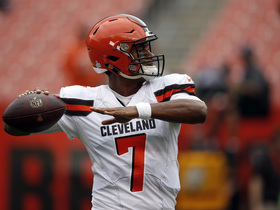 Watch: Rapoport: Browns name DeShone Kizer starting QB for Sunday vs. Titans