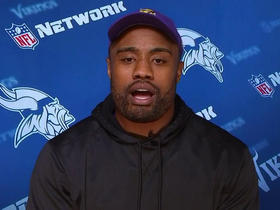 Everson Griffen talks overcoming adversity, Teddy Bridgewater, Anthony Barr's hit