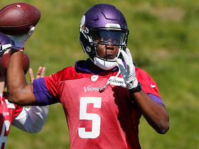Watch: Pelissero: Teddy Bridgewater joked he has bulked up to 'about 250' pounds
