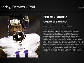 Watch: DDFP: Ravens at Vikings Week 7 preview