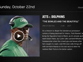 Watch: DDFP: Jets at Dolphins Week 7 preview
