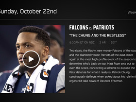 Watch: DDFP: Falcons at Patriots Week 7 preview