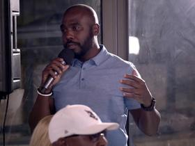 Watch: Marshall Faulk reflects on his time in Israel