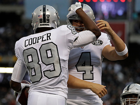 Derek Carr goes to Amari Cooper on first play from scrimmage