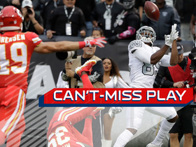 Watch: Can't-Miss Play: Carr launches to Cooper for flea-flicker TD