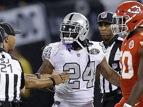 Marshawn Lynch ejected for unsportsmanlike conduct with an official