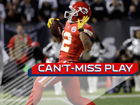 Can't-Miss Play: Albert Wilson benefits from unreal tip on 63-yard TD