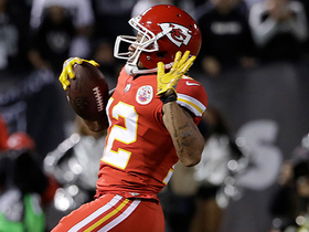Watch: Chiefs reverse fortunes on tipped passes with Wilson TD