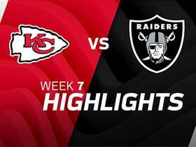 Raiders vs. Chiefs highlights | Week 7