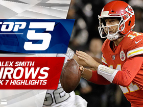 Alex Smith Top 5 throws | Week 7