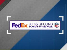 Watch: FedEx Air and Ground winners of Week 6