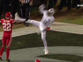 Watch: Marcus Peters draws the offensive pass interference call in the end zone