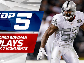 Watch: NaVorro Bowman's Top 5 Plays from Raiders debut