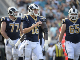 Watch: Stacey Dales: Rams arrival in London was delayed by an hour