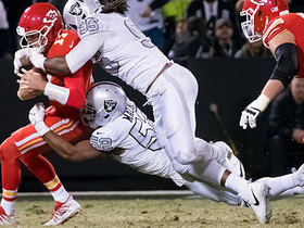 Watch: Instant Playbook: Three plays that explain how Raiders beat Chiefs
