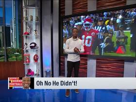 Watch: 'Good Morning Football': Oh No He Didn't!