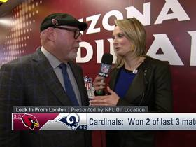 Watch: Arians explains how Cardinals are adapting to time change in London