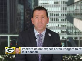Watch: Rapoport: Packers do not expect Rodgers to return this season