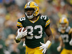 Watch: Aaron Jones breaks free for 46-yard TD through the middle