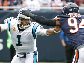 Watch: Leonard Floyd swallows up Cam Newton on sack