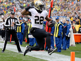 Watch: Mark Ingram bounces outside for open 12-yard TD run