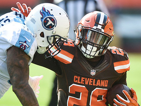Watch: Duke Johnson sprints up field for a 14-yard gain