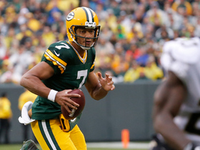 Watch: Brett Hundley evades defenders on 22-yard scramble