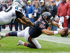 Trubisky races for goal line, lays out in incredible effort