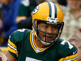 Watch: Brett Hundley does a Lambeau leap after first career rush TD
