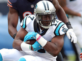 Cam Newton hits crossing Funchess for 20-yard gain in crunch time