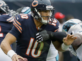 Kyle Love swarms Mitchell Trubisky for sack