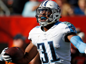 Hat trick! Titans safety Kevin Byard snatches THIRD interception of game