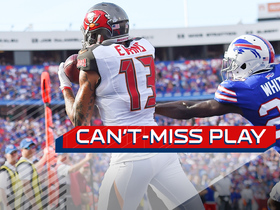 Watch: Can't-Miss Play: Mike Evans works some magic with his feet for a TD