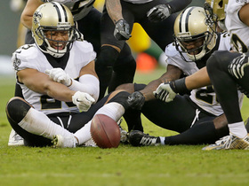 Watch: Hundley goes deep, but Kenny Vaccaro picks it off to seal a Saints win
