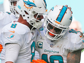 Watch: Matt Moore connects for a TD with Kenny Stills for the second time today