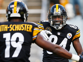 Watch: Big Ben expertly threads the needle to Antonio Brown for TD