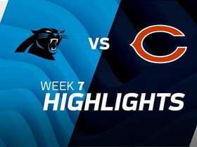 Watch: Panthers vs. Bears highlights | Week 7