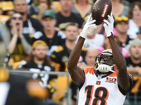 A.J. Green pulls in leaping catch over Artie Burns