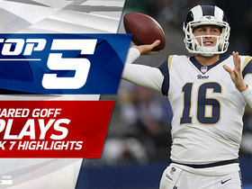 Watch: Jared Goff Top 5 Plays | Week 7