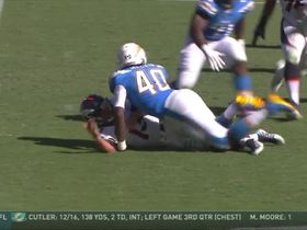 Watch: Broncos fumble for a second time in the first half