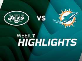Jets vs. Dolphins highlights | Week 7
