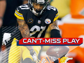 Watch: Can't-Miss Play: Joe Haden grabs INT off of A.J. Green's back