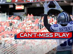 Watch: Can't-Miss Play: Dez Bryant leaps, toe taps for impressive TD