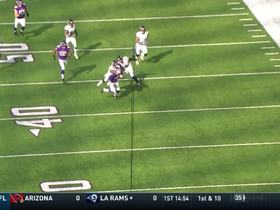 Watch: Marcus Sherels weaves through Ravens for 46-yard punt return