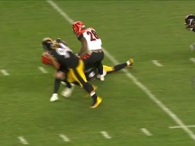 Dupree overpowers Mixon, Alualu charges in to finish sack